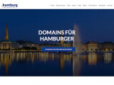 Bild: Die Seite punkthamburg.de informiert über die neue Top-Level-Domain.