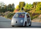 Bild: Das sieht nicht gut aus: Früher Protoyp des von Google entwickelten, autonomen Autios.
