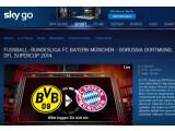 Bild: Sky Go ist nur eine von mehreren Möglichkeiten den Supercup zwischen Borussia Dortmund und Bayern München live zu verfolgen.