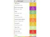 Bild: Die Smartphone App warnt Sie gezielt und frühzeitig vor Unwettern aller Art