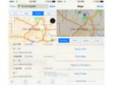 Bild: So könnte die Integration von öffentlichen Verkehrsmitteln in iOS 8 aussehen.