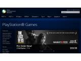 Bild: Auf der Sony Entertainment Network-Seite wird The Last of Us Remastered für die PS4 beworben.