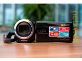 Bild: Sony Handycam HDR-CX320E im Test: Der kleine Camcorder für jedermann.