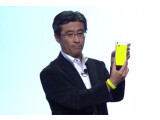 Bild: Sony ist einer von vielen Herstellern, die auf der CES ein neues Smartphone zeigten.