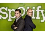 Bild: Spotify-Gründer Daniel Ek (r.) und Martin Lorentzon (l.): Gab es Kauf-Gespräche mit Google?
