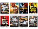 Bild: Studios wie Rockstar Games machen mit ihren Spielehits längst mehr Umsatz als Hollywood-Studios mit Kino-Blockbustern. Der Screenshot zeigt Spielehits von Rockstar Games.