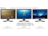 Bild: Mit Synergy bedienen Sie bis zu 15 Computer mit nur einer Maus und Tastatur.