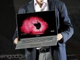 Bild: Über acht Millionen Bildpunkte tummeln sich auf der Anzeige des Asus Zenbook NX500.