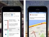 Bild: Verbesserte Navigation: Google hat seine Maps-App für iOS und Android aufgefrischt.