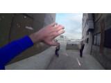 Bild: Verbrecher bekämpfen aus der Egoperspektive von Superman.