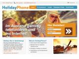 Bild: Verkauft ausländische SIM-Karten: das Portal holidayphone.de.