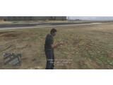 Bild: Das Video von YouTuber Chr0m3xMoDz zeigt Animationen, die für das Raubüberfall-Update von GTA Online gedacht sind.