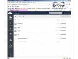 """Bild: Die Weboberfläche von ownCloud in der """"Datei""""-Ansicht."""