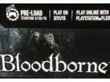 Bild: In einer Werbeanzeige im amerikanischen PlayStation Store wird bereits ein Release-Termin für Bloodborne genannt.