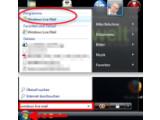 Bild: Windows Live Mail auf dem Computer suchen.