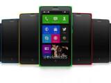Bild: Windows Phone-ähnlicher Startscreen, zwei SIM-Kartenschächte: das Nokia Normandy.