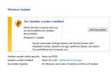 Bild: Das Windows-Update für die PC-Sicherheit ist schon zur täglichen Routine geworden.