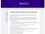Bild: Yahoo bestätigt: Unbekannte haben sich Zugang zu E-Mail-Konten verschafft.