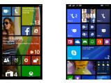 Bild: Zwei oder drei Spalten Kacheln, Hintergrundbild oder nicht - der Startbildschirm lässt sich mit Windows Phone 8.1 personalisieren.