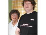 Bild: Peter Löthberg und seine Mutter Sigbritt