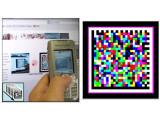 Bild: Ein 4D-Barcode, Bild: Bauhaus-Universität Weimar