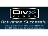 Bild: Diese Erfolgsmeldung zeigt der DVD-Player, wenn die Aktivierung geklappt hat. Das Gerät ist nun VoD-fähig.