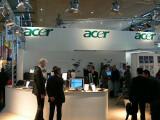 Bild: Der Acer-Stand auf der CeBIT 2008.