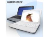 Bild: Medion Akoya Mini 1212: Das Netbook ist baugleich mit einem MSI Wind U100.