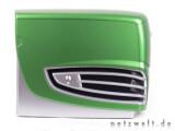 Bild: Grünes Geschoss mit zwei Grafikkarten und vier Prozessorkernen