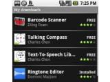 Bild: Android Market: Tummelplatz für Applikationen.