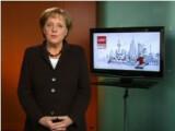 Bild: Angela Merkel: Statische Rede an die Podcast-Nation.