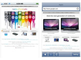 Bild: Alternative Browser für das iPhone: EDGE links und Incognito rechts