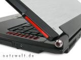 Bild: Optisch rangiert das G2S irgendwo zwischen Case-modding, Edel-Notebook und aufgemotztem Golf GTI.