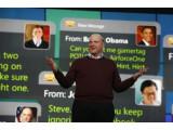 Bild: Erste Keynote in Eigenregie: Microsofts Steve Ballmer.