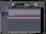 Bild: Audioproduktion mit Ardour(Klick vergrößert)