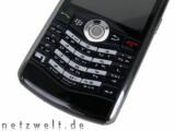 Bild: Der Trackball überzeugt, die Tastatur fällt im Praxistest durch.