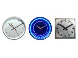 Bild: Analoge Uhren: Insgesamt stehen acht Designs zur Wahl.