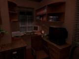 Bild: Loreids Büro: Des Nachts wird er von schlimmen Albträumen heimgesucht.