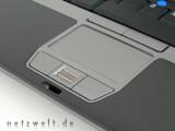 Bild: Doppelte Eingabe: Touchpad und Trackstick als Mausersatz