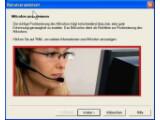 Bild: Dragons Benutzerassistent hilft beim Positionieren und Einrichten des Mikrofons.