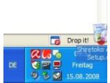 Bild: Wahlweise schützen Sie den Drop mit einem Passwort. Jeder andere User, der den von Drop.io erzeugten Link zu Ihrem Webspace anklickt - und das Passwort kennt - kann Ihren Drop jetzt im Browser aufrufen. Sie legen fest ob diese Besucher nur herunterladen dürfen oder auch Daten hinzufügen, entfernen und kommentieren können. Unter Edit Drop > Drop Expiration legen Sie die Haltbarkeit des Drops fest - nach maximal einem Monat ist allerdings der Drops gelutscht.