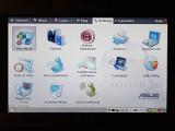 Bild: Vorher: Das Betriebssystem des Eee ist praktisch - aber kein Augenschmaus