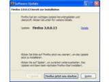 Bild: Automatisches Update: Firefox in Version 2.0.0.13.