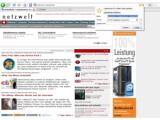 Bild: Neue Optik für den Fuchs: Firefox 3 Beta 3.(Klick vergrößert)
