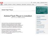 Bild: Neuester Stand: HD mit Flash Player 9.0.115.0