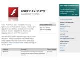 Bild: Noch Version 9.0.115.0? Höchste Zeit für den aktuellen Flash Player.
