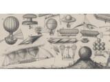 Bild: Von Ballons bis Propellern war damals alles denkbar.