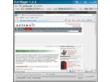 Bild: Nur Flash-Videos, das aber gut: Der FLV Player.