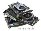 Bild: In puncto Preis-Leistung-Verhältnis ist die GeForce8600 GT ihren Werkskollegen klar überlegen.