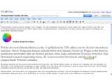 Bild: Office-Suite im Netz: Google Docs.